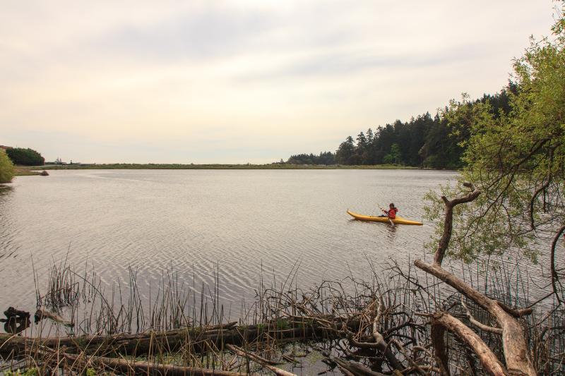 Kayaking in Lagoon