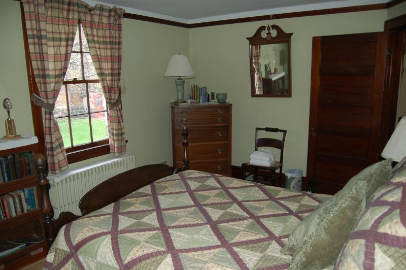 Cuadros habitación con cama doble