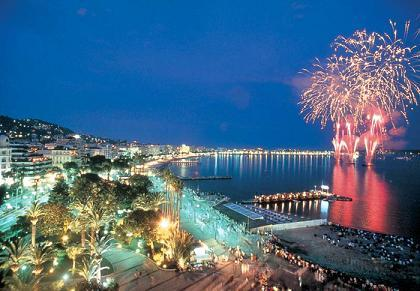 Cannes 30 min Fire works