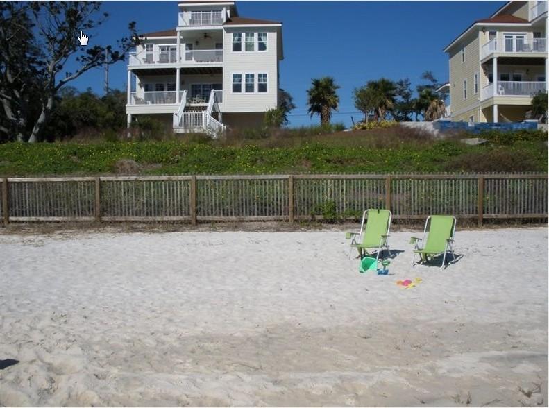 We have a beautiful private beach