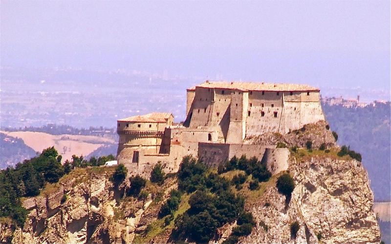 San Leo Castle, here died Cagliostro