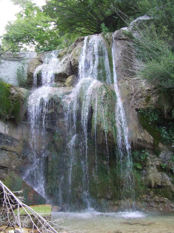 Waterfall, refreshing after a nice walk to mount carpegna