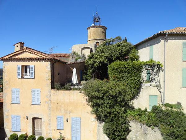 The bell tower in Fayence