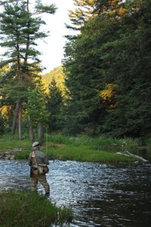 Fly Fishing by House