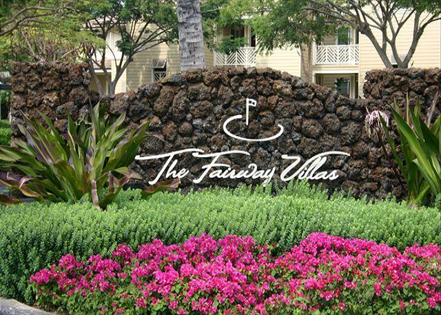 Entrance to Fairway Villas
