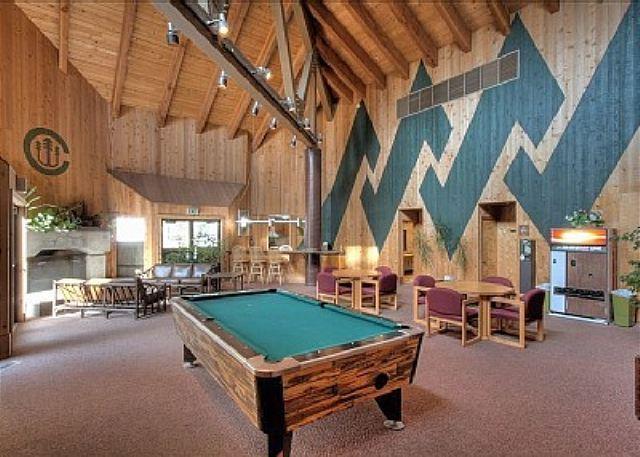 Lodge avec table de billard