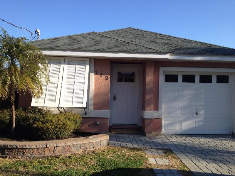Front of house, garage is non-accessible