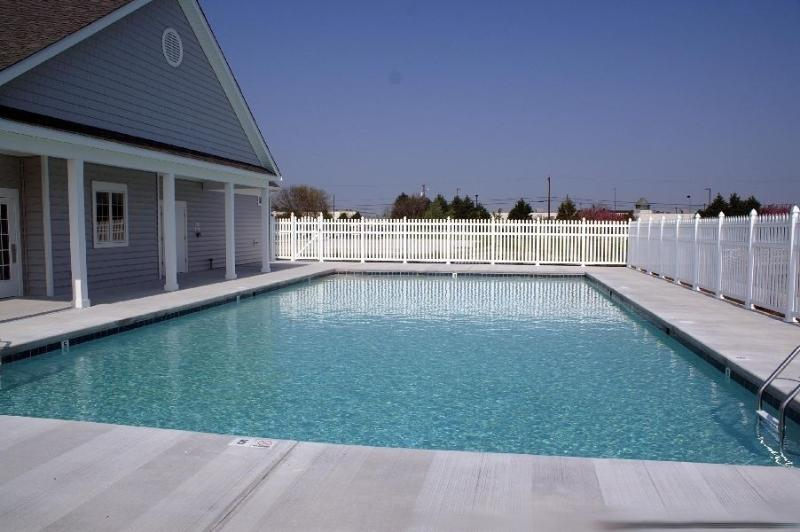 Private Community Pool with Clubhouse and Gym