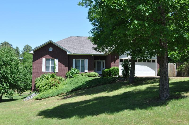 Our beautiful 2900+ sq ft home, on a 2/3 acre lot.  Plenty of room to spread out!