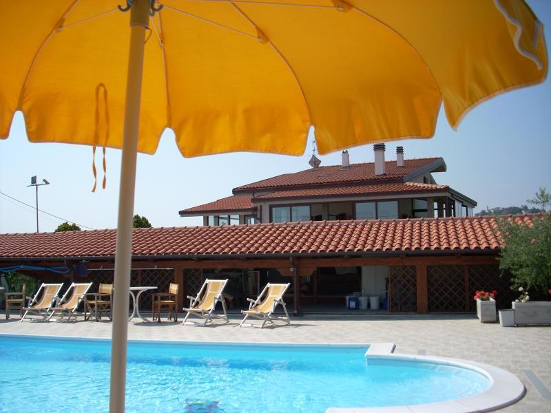 Residence vista piscina