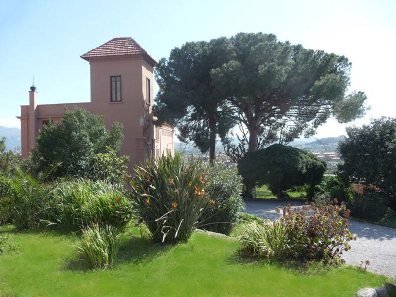 Garden and ancient villa