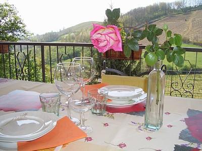 Almoço no terraço