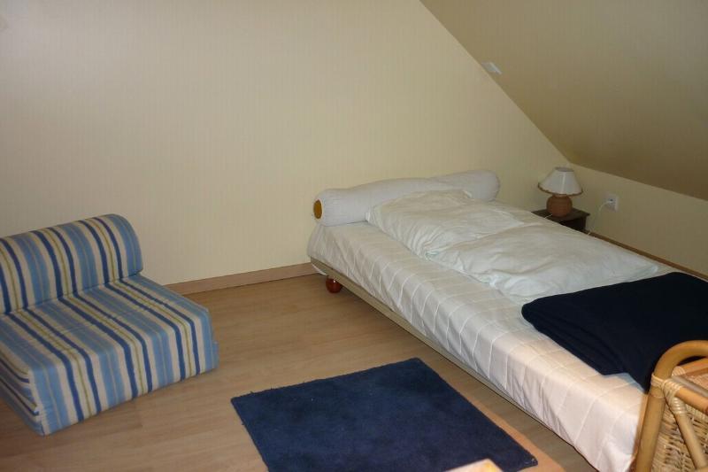 the mezzanine above the bedroom 2