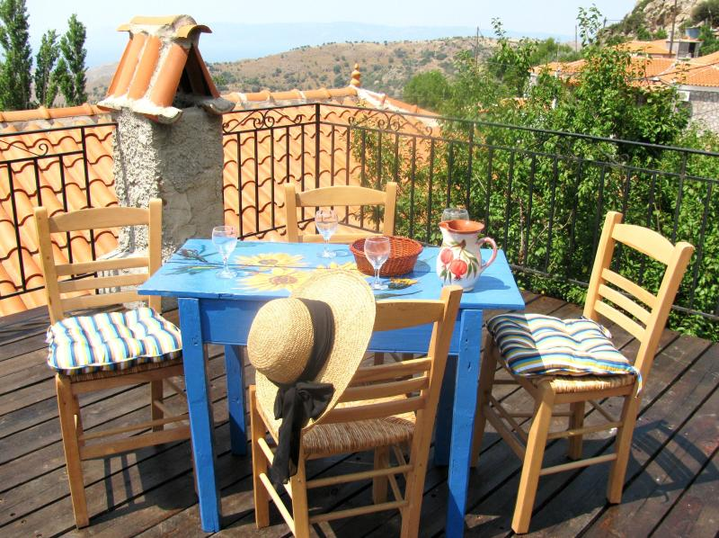 Mermaid's Cottage on Lesbos Island, Greece, holiday rental in Vafios