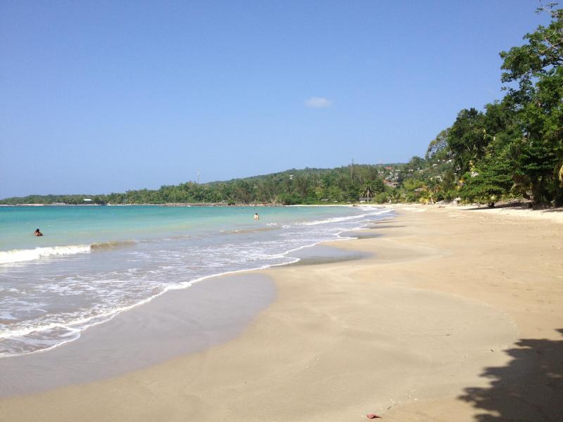 Local private community beach