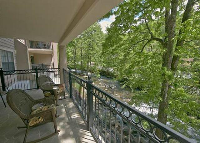Creekside Balcony