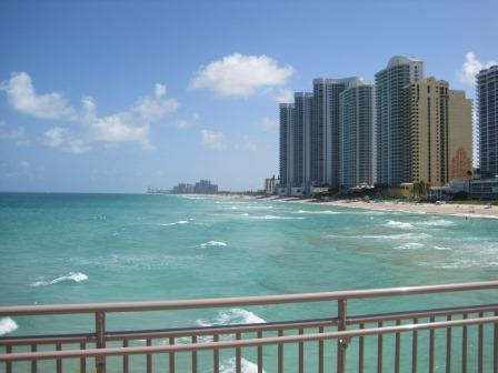 Jetée à Sunny Isles Beach, Floride