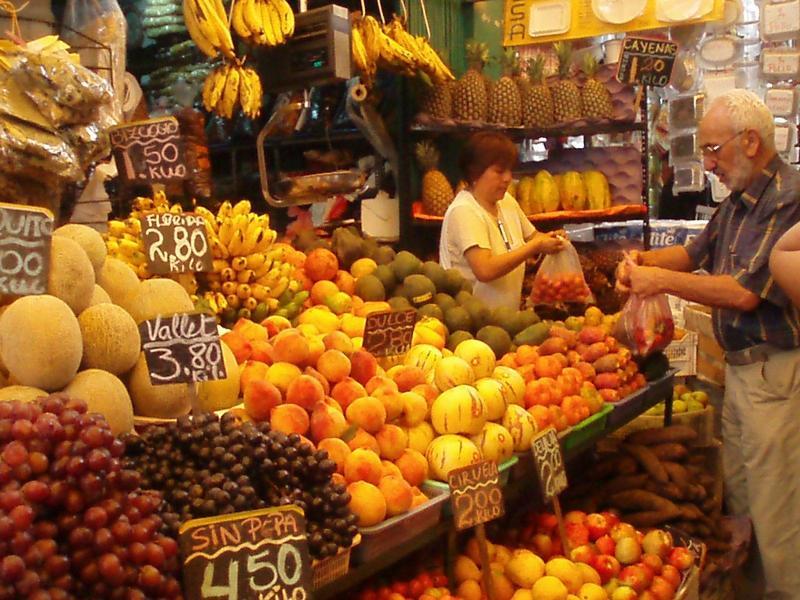 5 minutos a pie del mercado