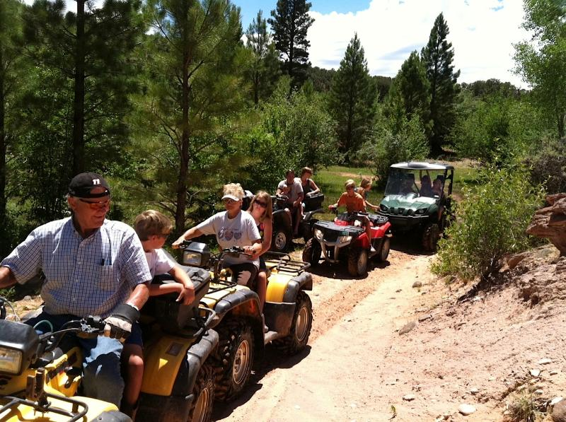 Just one of the ATV trails in the area