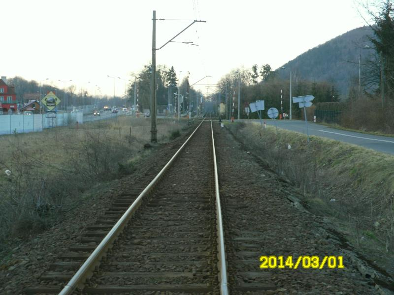 railway to cental Poland