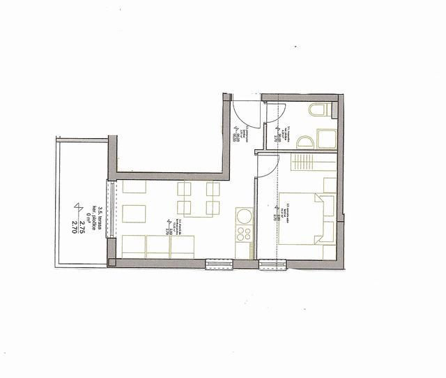drawing of apartment