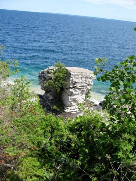 a Day-Trip to Flowerpot Island, Tobermory