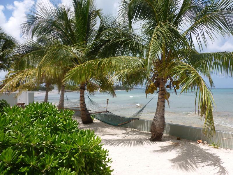 Relaxing Sandy Patio Area