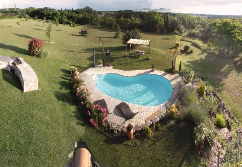 Superb villa heated pool & spa in the Southwest, holiday rental in Castelnau-de-Montmiral