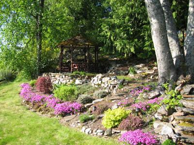 Flower Bed on Property