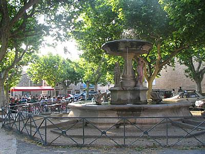 the place of the fountain