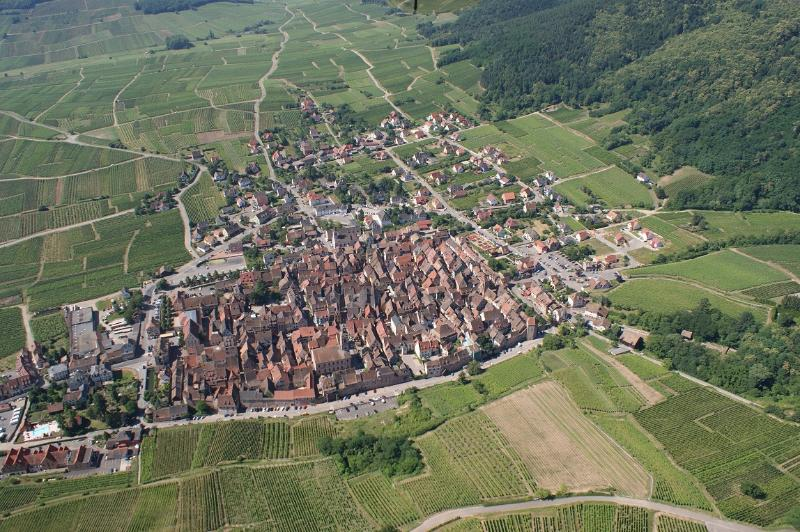 fortified Riquewihr