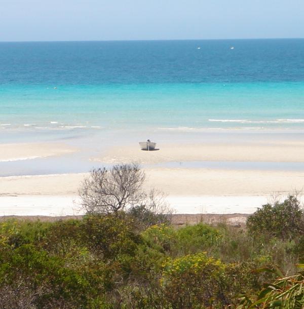 Absolute Beachfront Island Beach