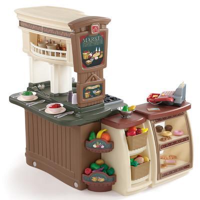 award winning toy kitchen in game room