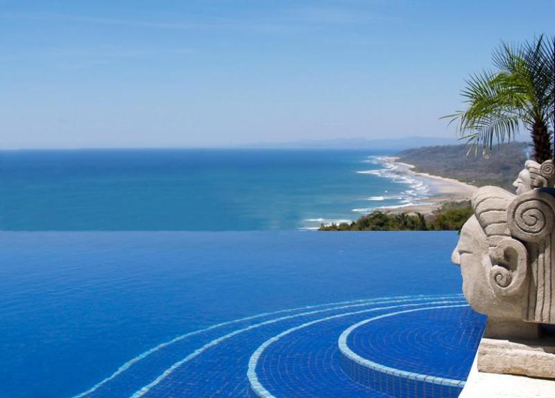 RENT HILLTOP! Best VIEWs, Trop.Villa/Pool/Jacuzzi, vacation rental in Mal Pais