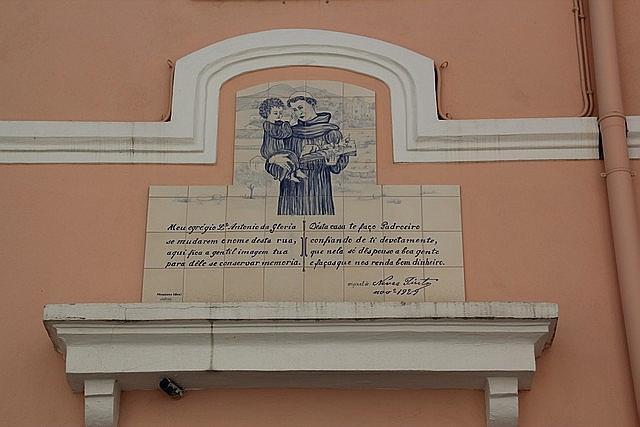 Santo António Poem - Tiles