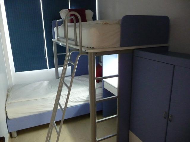 Bunkbed in third bedroom