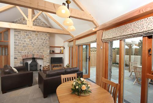 Pear Tree Cottages: Cherry Plum Gold Award 4 star., holiday rental in Axbridge