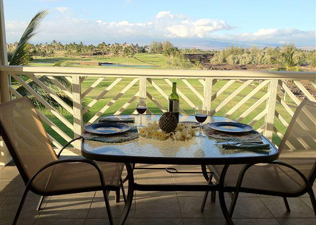 Lovely Fairway Villas  Penthouse unit. Mountain views, holiday rental in Kohala Coast