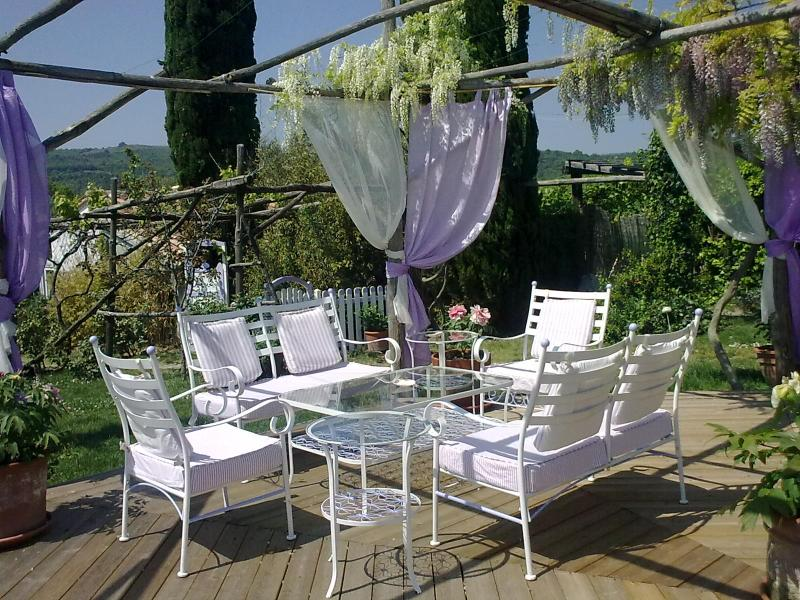 A charming old Country House with pool in Saturnia, holiday rental in Murci