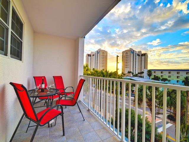 Beauiful vacation space at Clearwater Beach, Florida