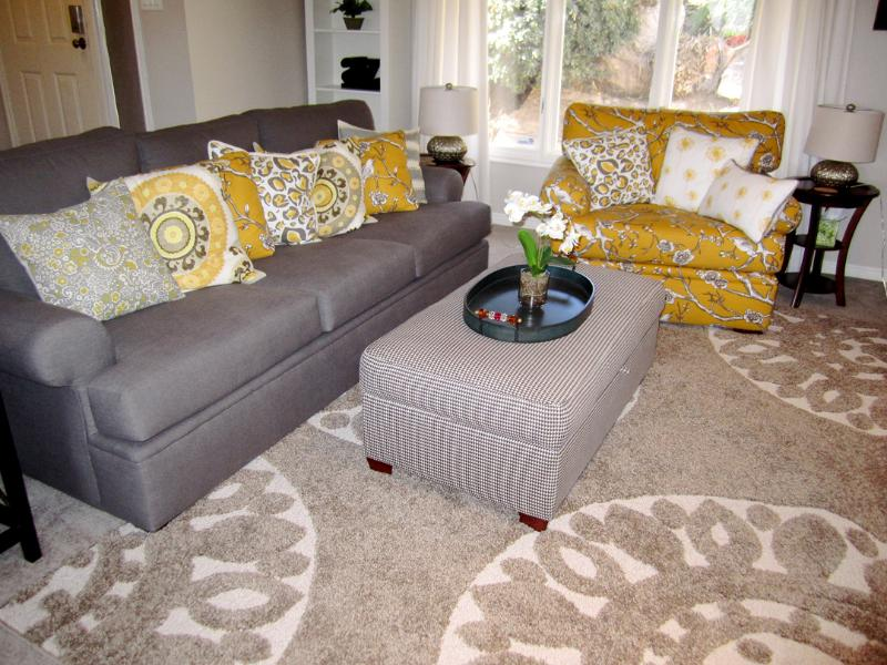 Enjoy the comfortable furniture and decorative furnishings