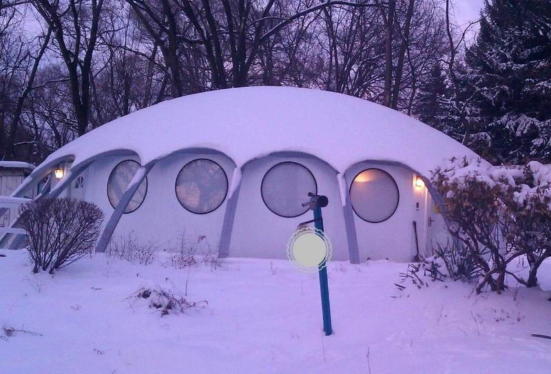 You can see why we call it 'the Igloo'