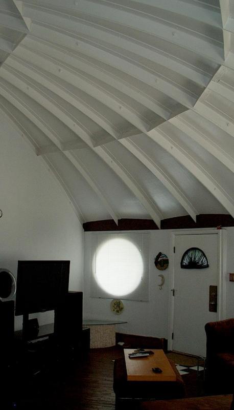Plafonds voûtés Voir la construction unique de la maison