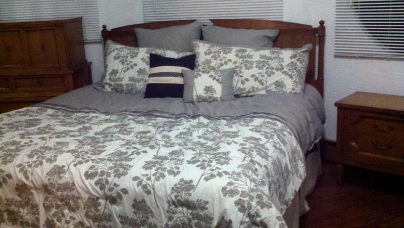 Chambre des maîtres avec King lit