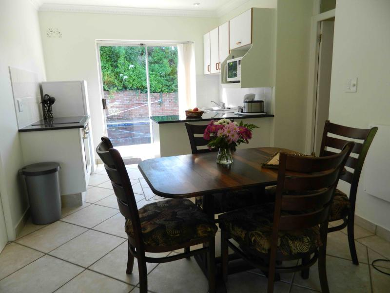 Guinea Fowl Dining Area and Kitchen