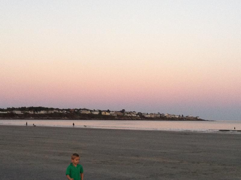 Sunset Long Sands