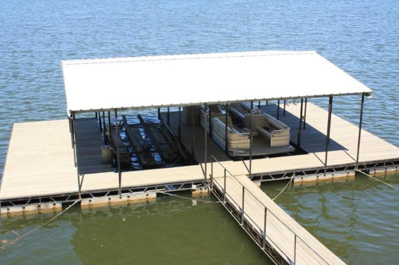 2 Well Dock with 2 Swim Platforms