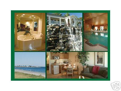composite pictures of resort