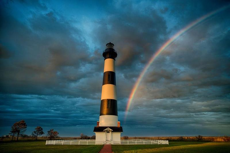 Just a really cool picture of Bodie Island.