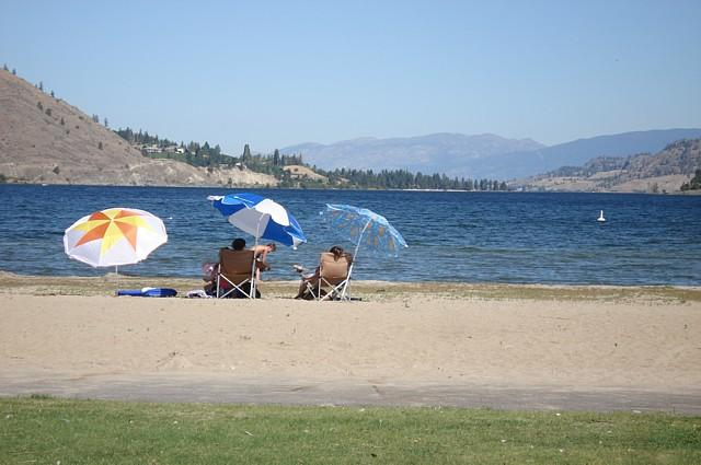 Christie Memorial Park in Okanagan Falls, BC